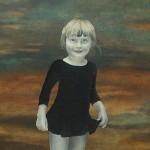 Eva Wilms - bildkonstnär - Barnet 3 - tempera och blyerts - 130x70 cm