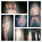 muralmåleri, kungsbacka biograf, Facklan