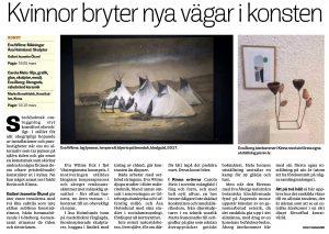 Recension i Borås Tidning den 8 Mars 2017